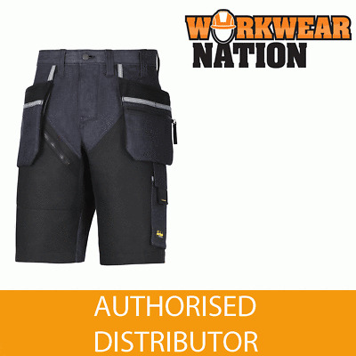 Work Trousers 6305 Snickers Hardwearing RuffWork Denim