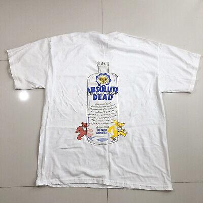 t shirt REPRINT untru vtg Grateful Dead 1993 Have A Grateful Day Bears 90s Band