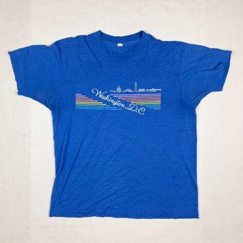Vintage Washington DC Tourist T Shirt Single Stitc