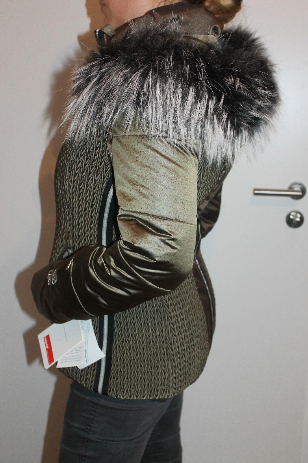 Sportalm Kitzbühel Semiflumes Supreme Inverno Giacca da da da Sci Cappotto Con 598e95