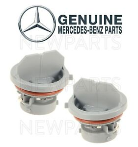 Details about Set of Two Front Bulb Sockets for Turn Signal Lights OES For  Mercedes W203 W211