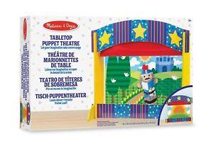 Melissa & Doug Tabletop marionnettes théâtre en bois jouet jeu