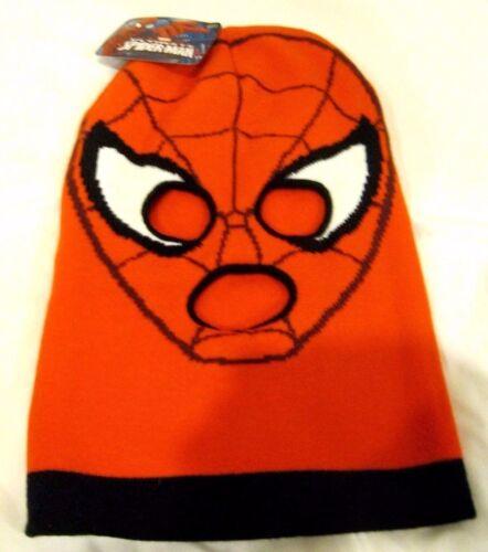 Beanie Full Face Red Spiderman Webb face mask costume halloween attire-New!v2