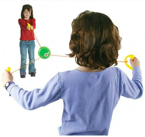 Plastic toy hand draw ball jumbo speed shuttle pulling outdoor interact game 1pc