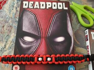 DEADPOOL 550 GRADE PARACORD WRISTBAND 25 CHARITY DONATION INC EDC EDC - Dover, United Kingdom - Returns accepted Most purchases from business sellers are protected by the Consumer Contract Regulations 2013 which give you the right to cancel the purchase within 14 days after the day you receive the item. Find out more about yo - Dover, United Kingdom