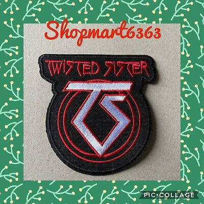 SMF Dee Snider Twisted Sister Patch Embroidered Glam Metal Band Applique Emblem