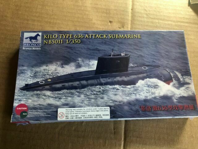 Hobby Boss Plan Type 035 Ming Class Submarine Boat Model Building Kit