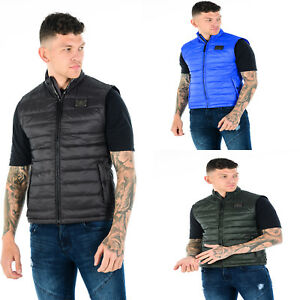 Mens-TOV-Quilted-Sleeveless-Bodywarmer-Down-Feather-Puffer-Bomber-Gilet-Jacket
