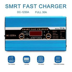 Quick-Charge-Leisure-Battery-Charger-30A-For-Caravan-Campervan-Motorhome-Boat