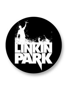 Porte clé Keychain Ø45mm Logo Linkin Park Rock US Bands Groupe