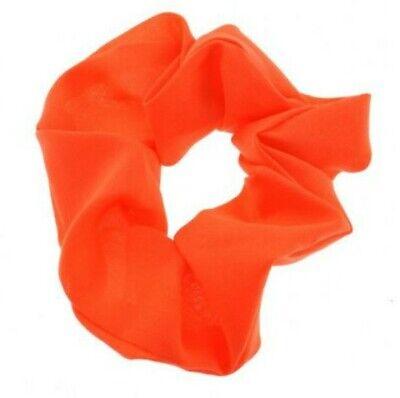 Arancio Fluo Novita 'costume Fascia Per Capelli Poliestere 4cm Parrucchino Coda Di Cavallo- Superficie Lucente