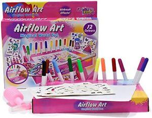 Children-039-s-Arts-amp-Crafts-Air-Blow-Magical-World-Pen-Set-Educational-Kids-Art