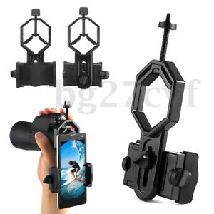 Telescope-Spotting-Scope-Microscope-Mount-Holder-Mobile-Phone-Camera-Adapter