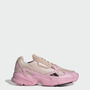 Adidas Originals Falcon Running Shoes for Women, Size 9 - Ice Pink/True Pink/Chalk Purple