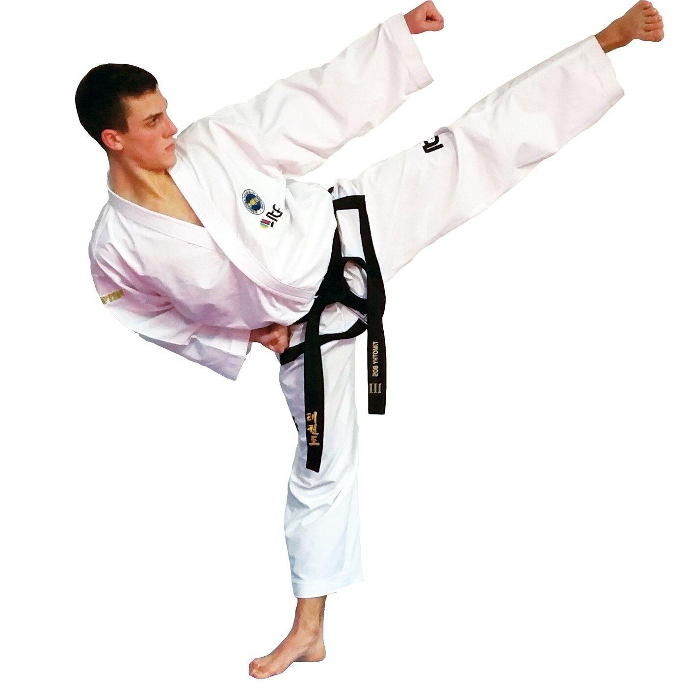 Top Ten- Taekwondo Master Dobok. 160-200cm. Taekwondoanzug. Taekwondoanzug. Taekwondoanzug. Mischgewebe.  | Genialität  | Realistisch  | Qualitativ Hochwertiges Produkt  d71de1