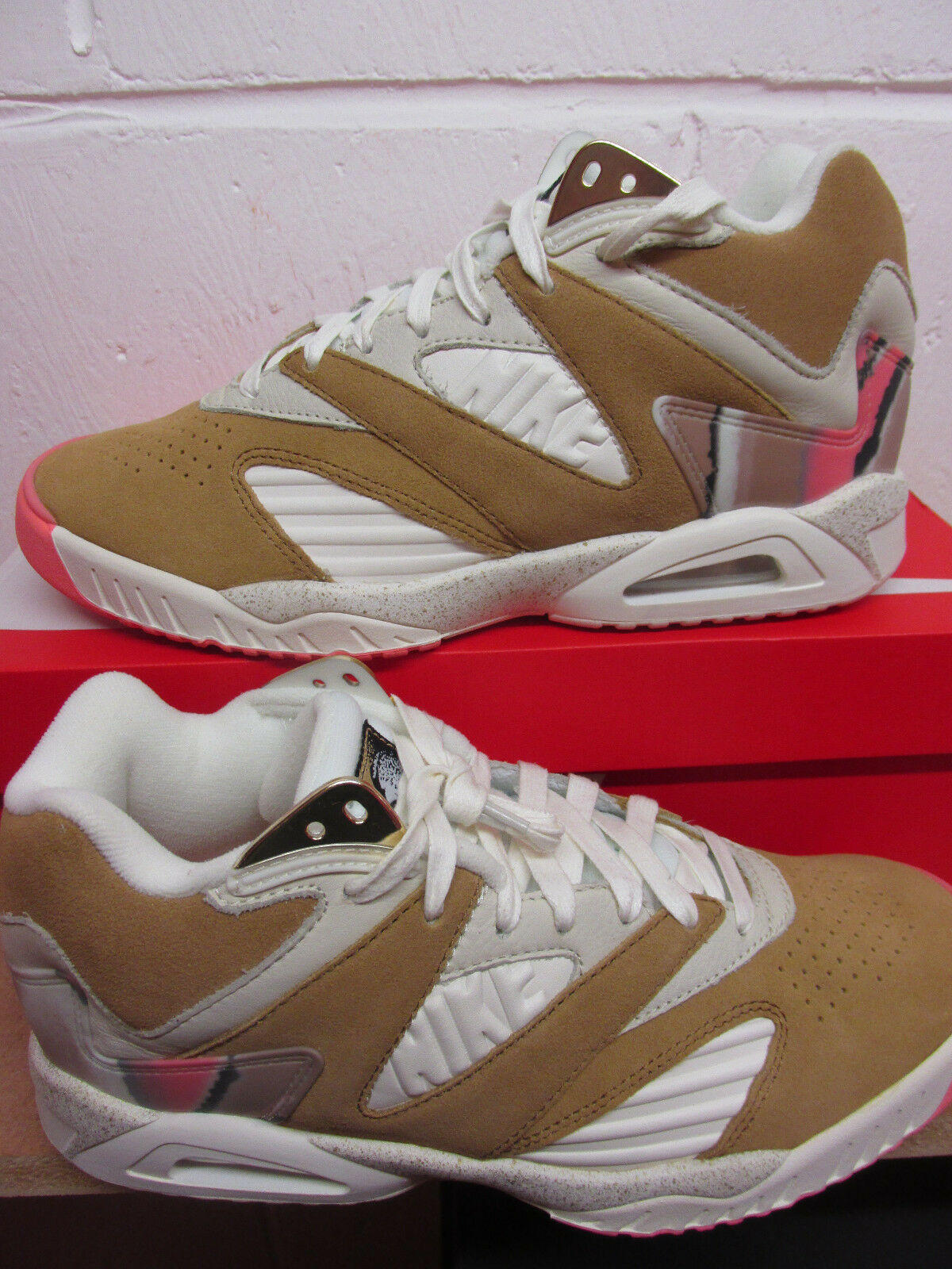 Nike Air Tech Challange Hi IV Premium  Uomo Hi Challange Top Trainers 852622 201 Sneakers Schuhe 5f4257