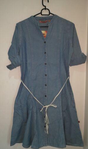 Women Denim Shirt Dress