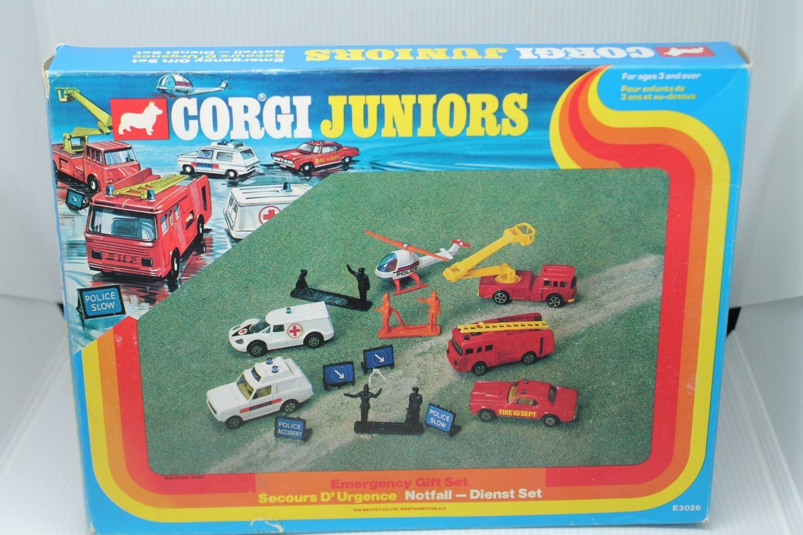 Corgi juniors  Emergency veneno set - 6 vehicles  OVP