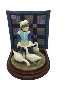 The-Amish-Heritage-Collection-Sadie-Mae-039-s-Hungry-Geese-30044-Limited-Edition-1st