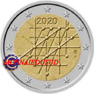 2-Euro-Commemorative-Finlande-2020-Universite-de-Turku-UNC-NEUVE