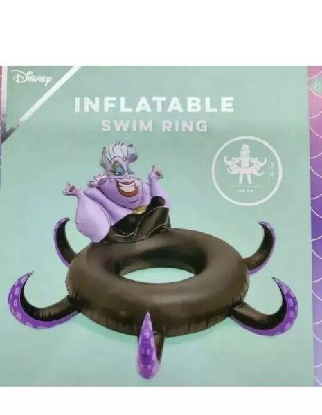 Cooperativa Disney Ursula Pool Party Galleggiante Anello Lilo La Sirenetta Cattivo Gonfiabile Alleviare Il Caldo E Il Colpo Di Sole