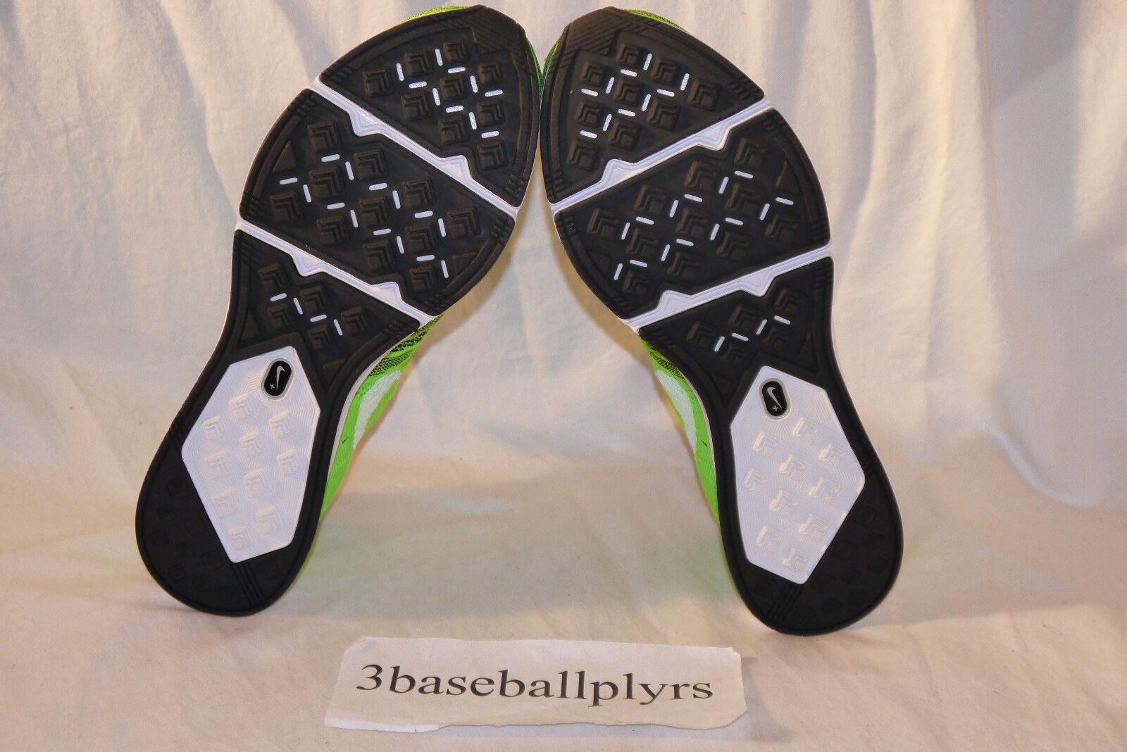 Nike flyknit trainer nuove dimensioni 6 nuove trainer scorte morte 532984-301 verde bianco nero d246f9