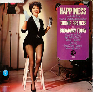 CONNIE-FRANCIS-HAPPINESS-MGM-LP-GERMAN-PRESSING-STEREO