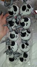 Disney's Nightmare Before Christmas  Ornament set X 10 Glass Jack
