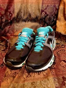 Women s Nike Airmax Tailwind 4+ Running Shoes Sz 9 Gray   Teal ... 2a7bcab70