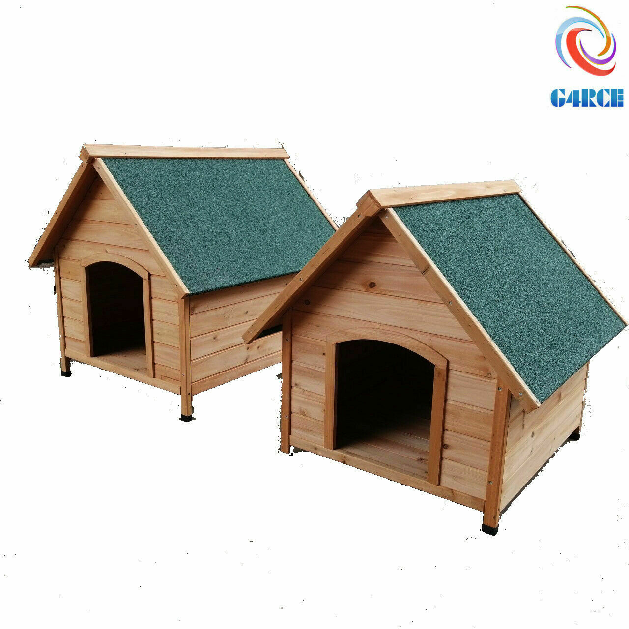 In legno Outdoor Outdoor Outdoor Indoor Pet House Canile Rifugio Den con APICE Tetto Med Large ac6fc3