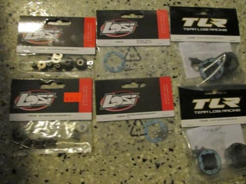 m Losi Racing Diff Rebuild Kit Gears Integrated Diff Housing Gasket Seals 3