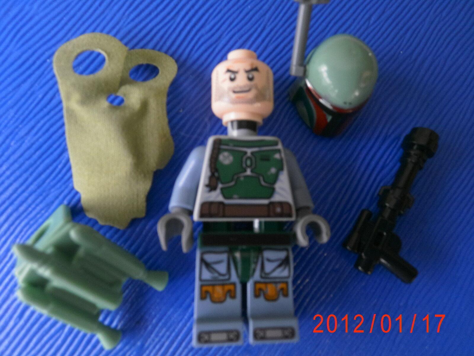 Lego Star Wars Figurine - Boba Fett - 9496 (831)