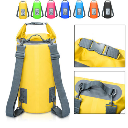 Heavy-Duty PVC Water Proof Dry Bag Sack for Kayaking//Boating//Canoeing//Fishing