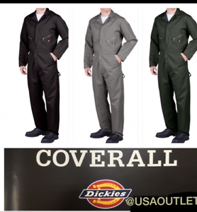 DICKIES COVERALL MEN'S LONG SLEEVE Mechanic Coverall 48799