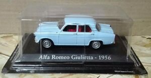 DIE-CAST-034-ALFA-ROMEO-GIULIETTA-1956-034-SCALA-1-43-RBA-AUTO-INDIMENTICABILI