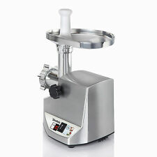 new 1800w electric meat grinder home commercial stainless steel sausage stuffer