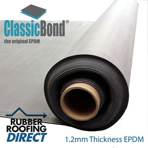 6m To 10 5m Wide Epdm Rubber Roofing Membranes For Flat
