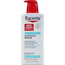 Eucerin Lotion Intensive Repair 16.9 oz. Dry Skin Hand Face Moisturizer Bottle