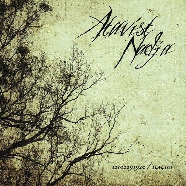 ATAVIST / NADJA - 12012291920 / 1414101  [GREEN/WHITE Vinyl] Split LP