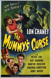 1944 Mummy's Curse Affiche Du Film Réplique 13x19 Photo Imprimé Performance Fiable