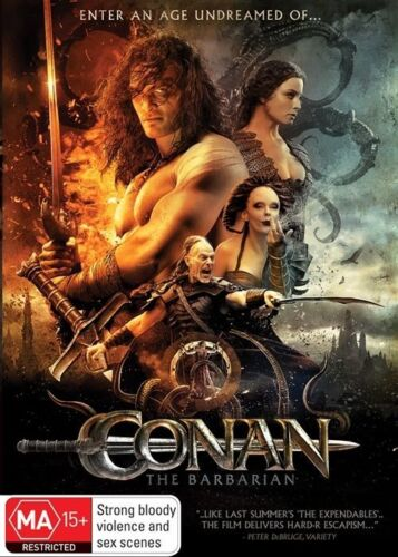 1 of 1 - Conan The Barbarian (DVD, 2011) NEW
