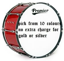 Reemplazo Premier pegatina de vinilo gráficos calcomanías Bandas tambores pieles Band 8 Pulgadas