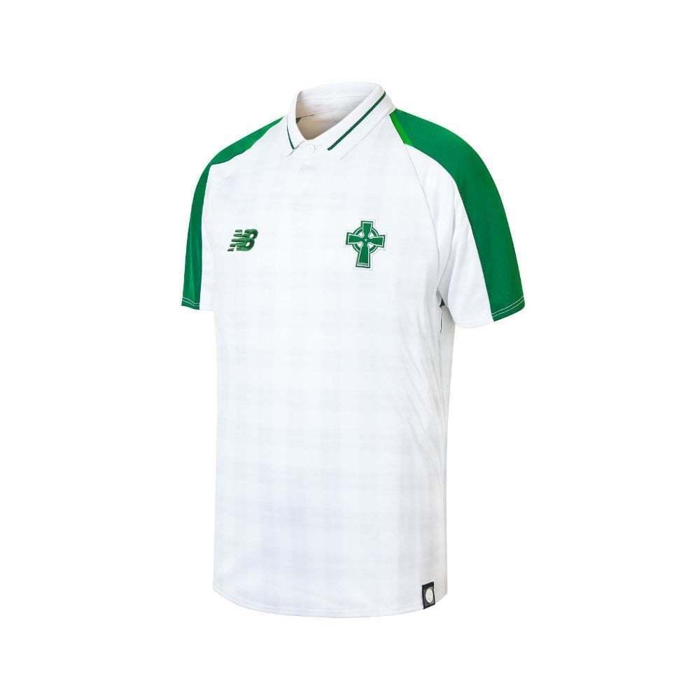 New Balance Celtic Away Junior Short Sleeve Jersey 2018 2019