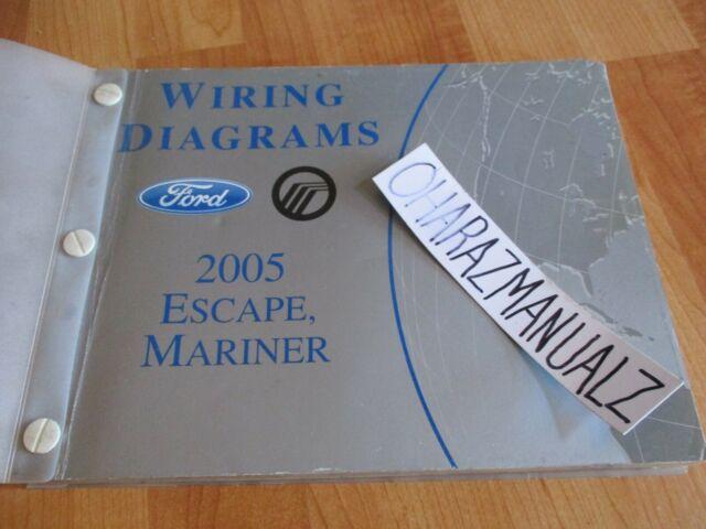 Diagram  2006 Ford Escape Mercury Mariner Wiring Diagram