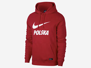 online store fe2b4 d0027 Image is loading Apol-54-poland-nike-hooded-sweatshirt-world-cup-