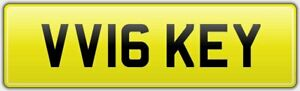 VICKEY-NEW-16-REG-NUMBER-PLATE-VV16-KEY-FEES-PAID-VICKY-VICTORIA-VICKI-VIX-VICK