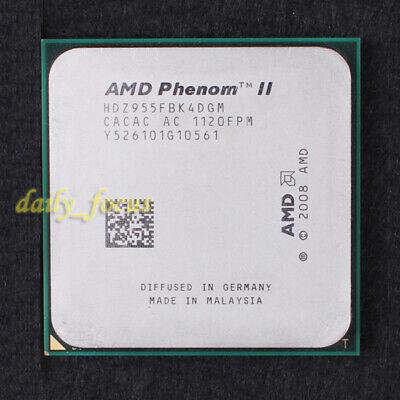 AMD Phenom II X4 955 BE 3.2GHz Quad Core 6MB Socket AM3 125W HDZ955FBK4DGM CPU
