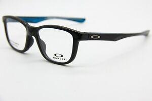 NEW OAKLEY OX8106-0250 BLACK CROSS STEP AUTHENTIC RX EYEGLASSES W/CASE 50-16