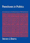 Paradoxes in Politics: An Introduction to the Nonobvious in Political Science by Steven J. Brams (Paperback, 2007)