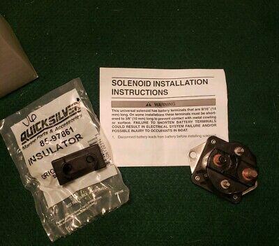 OEM Mercruiser Mercury Starter Slave Solenoid Kit Promax Outboard 89-853654A1
